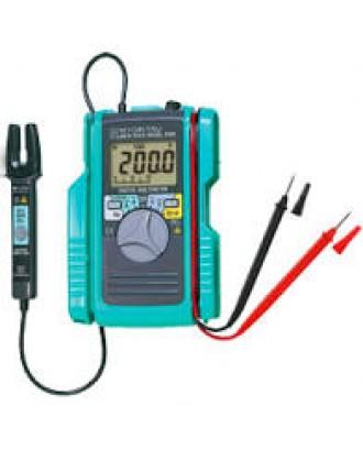 Digital Multimeter with AC/DC Clamp Sensor KEW 2000