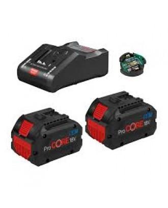 Batteries & chargers starter set GBA 18V, 2x8.0Ah ProCORE + GAL 18V-160 C, 1600A016GP